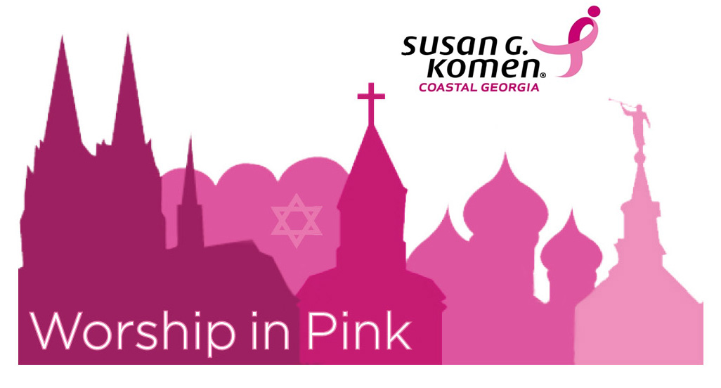 Worship in Pink Logo